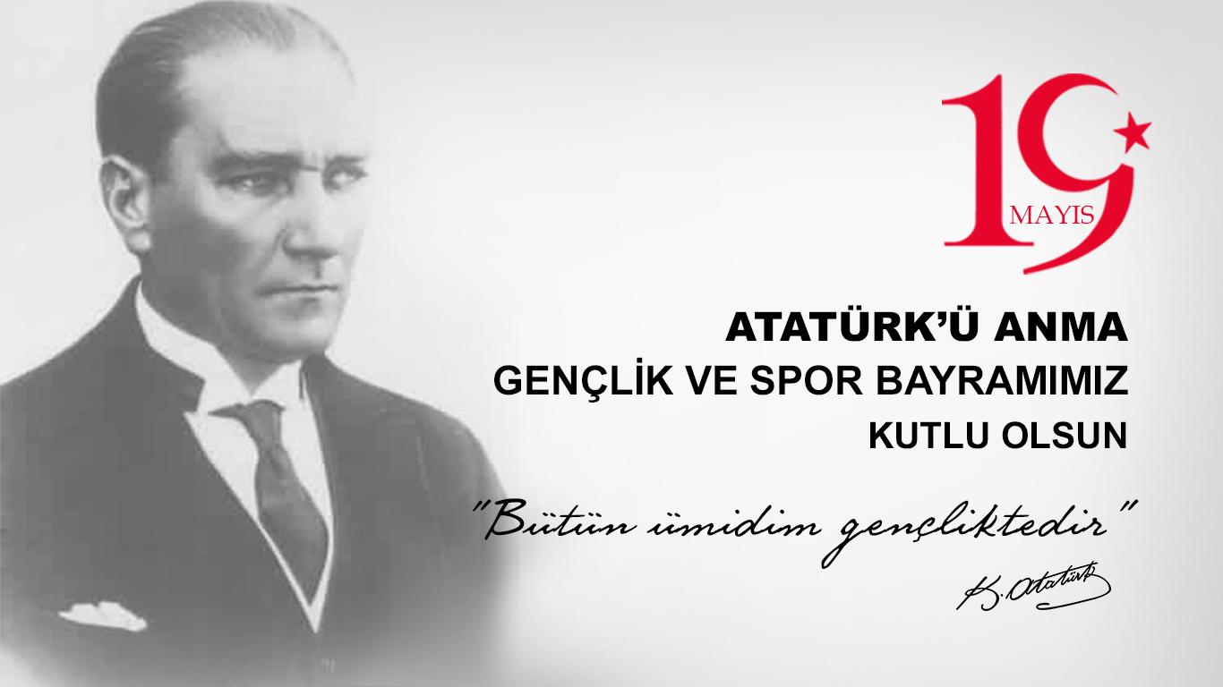 Atatürkü Anma Gençlik ve Spor Bayramı